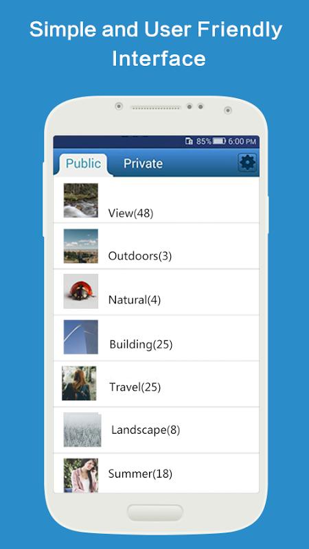 PhotoSafe screenshot 2