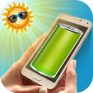 solar battery charger prank icon