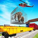 Zoo Animal Train Transport 3D
