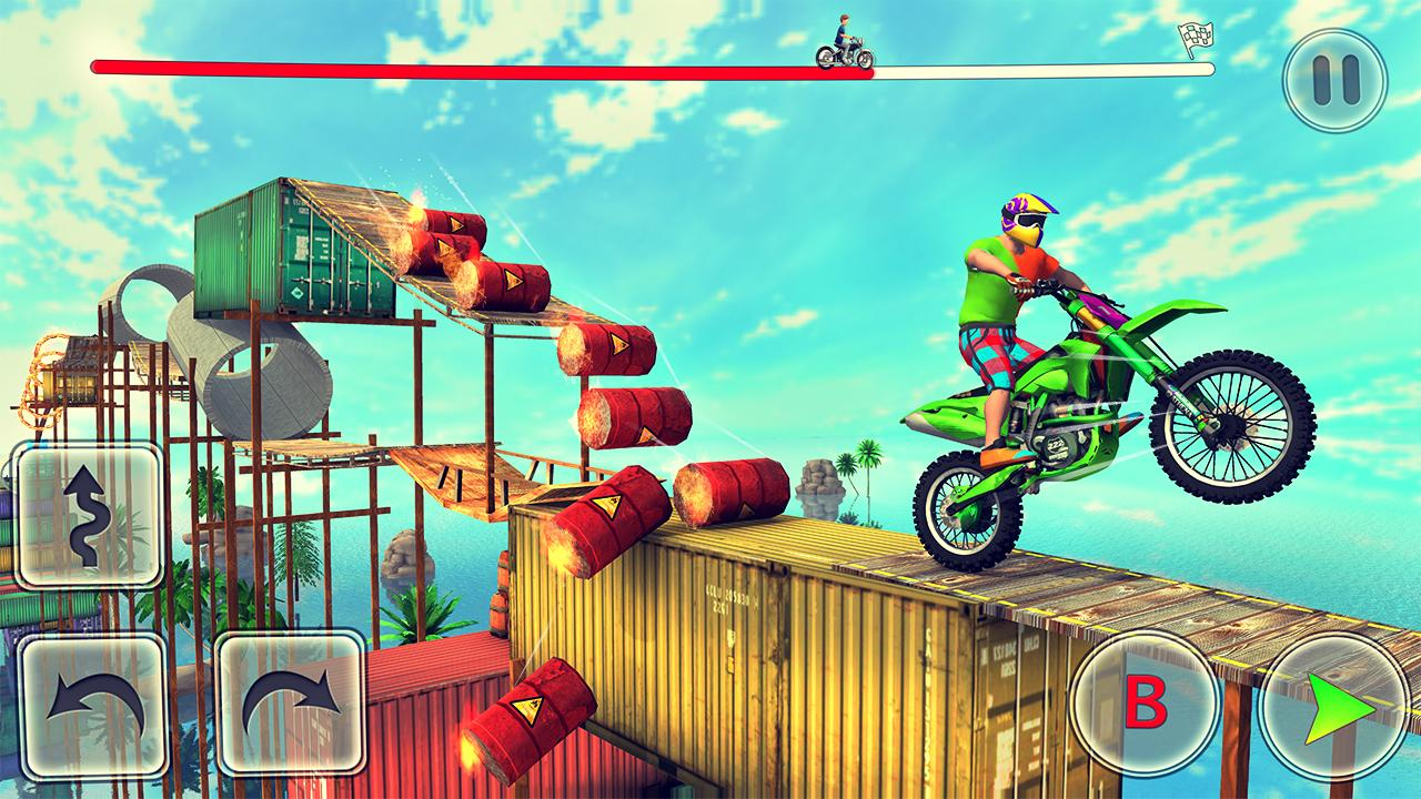New Bike Racing xtreme - Free motorcycle games screenshot 1