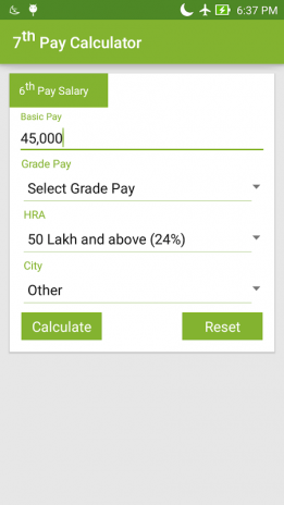 7th Pay Commission Salary Calc 1 11 Download APK for Android - Aptoide