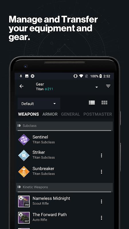 Destiny 2 Companion screenshot 2