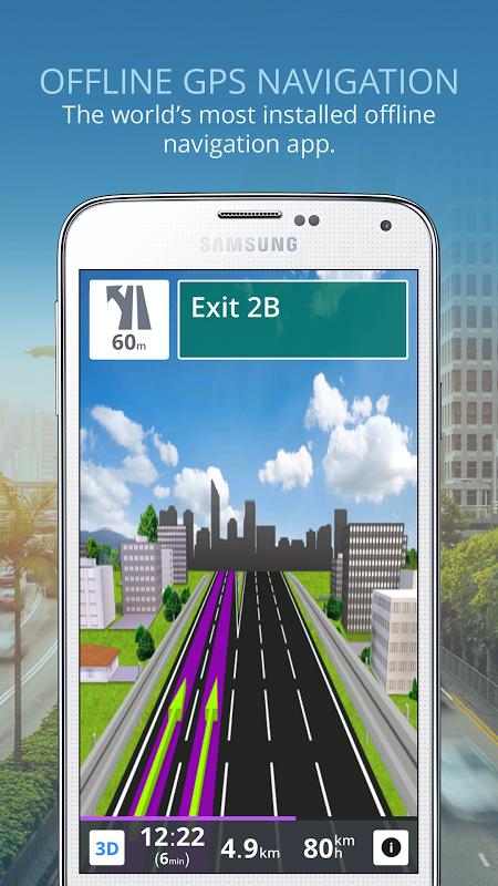 Sygic: GPS Navigation screenshot 1