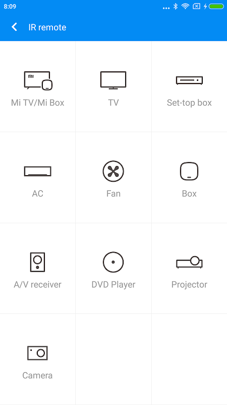 Mi Remote controller - for TV, STB, AC and more screenshot 1