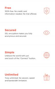 Best VPN - Free Unlimited VPN screenshot 3