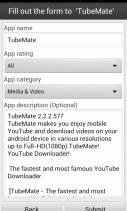 Aptoide Uploader Screenshot