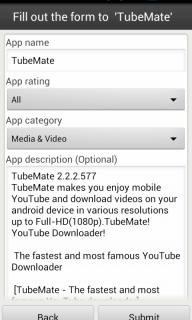 Aptoide Uploader screenshot 3