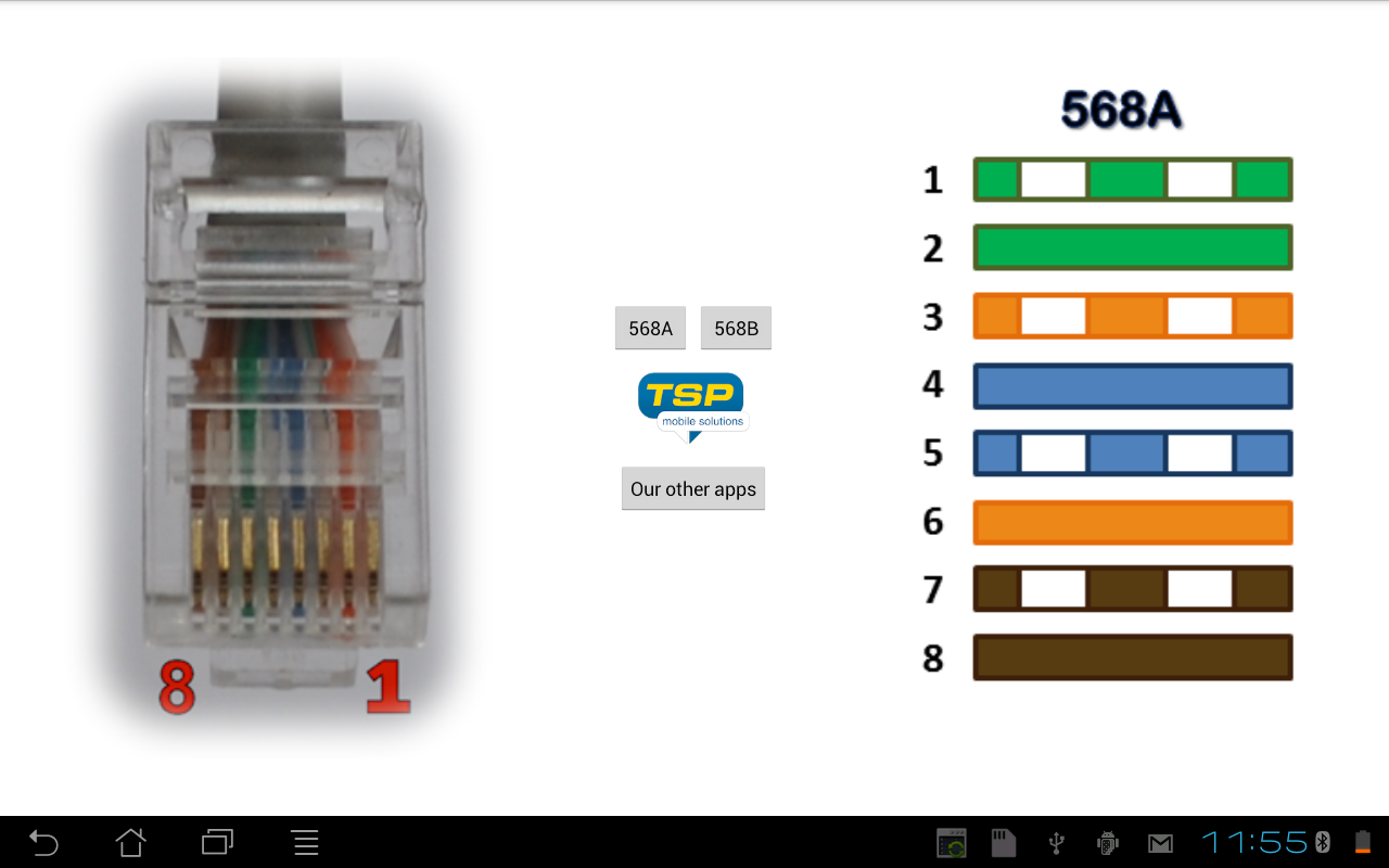 Ethernet Wiring Pinout - Schematic Diagrams