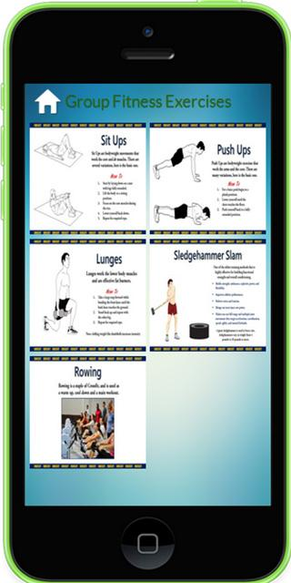 Group Fitness Exercises 117
