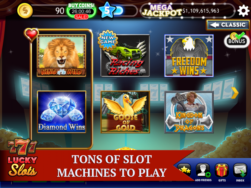 Free Top 6 Android Slot Machine Apps