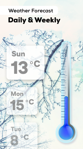 Thermometer: Weather, Body Temperature, Forecast screenshot 2