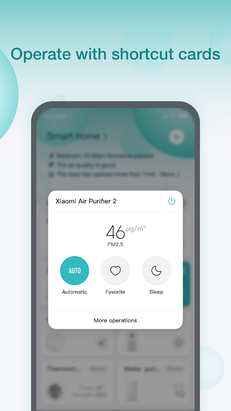 Xiaomi Home screenshot 1