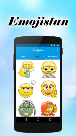 naughty emoticons for android phones