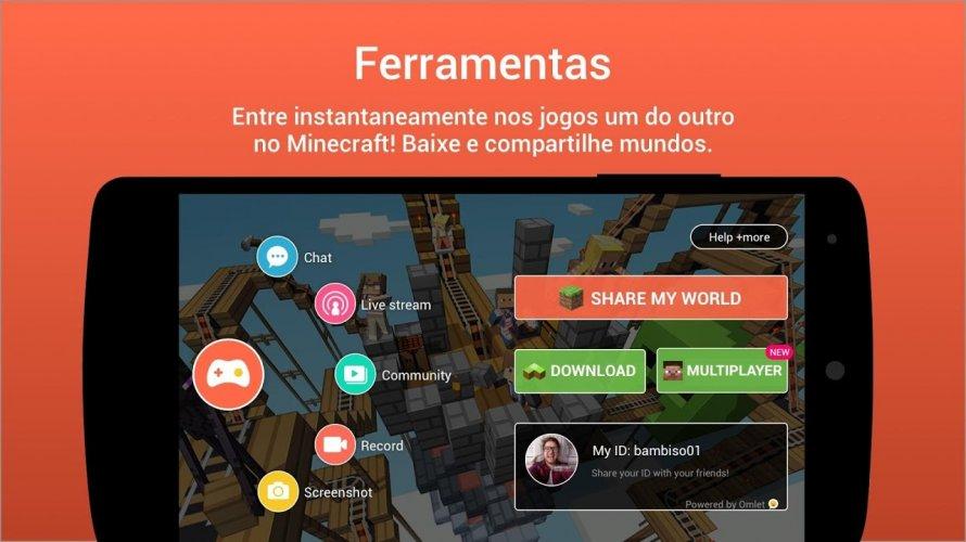 Omlet Arcade - Live do seu celular screenshot 2