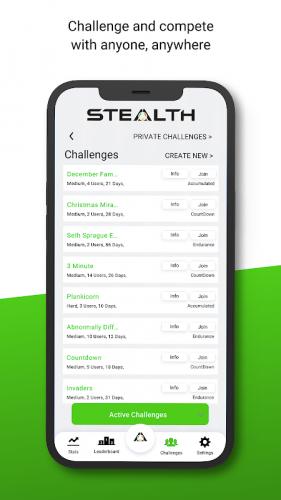 Stealth Fitness screenshot 5