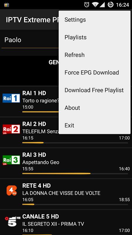 IPTV Extreme Pro screenshot 2