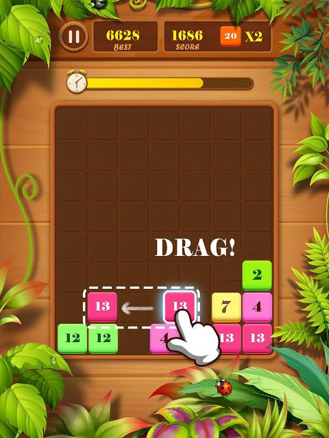 Drag n Merge: Block Puzzle screenshot 1