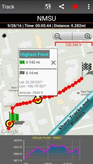 Altimeter screenshot 4