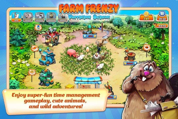 تحميل APK لأندرويد - آبتويد Farm Frenzy: Hurricane Season1 5