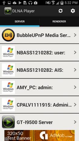 DLNA/UPnP Player&Server 3 1 Download APK for Android - Aptoide