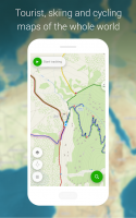 Mapy.cz - Cycling & Hiking offline maps Screen