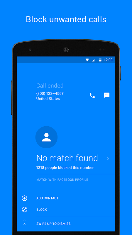 Hello – Caller ID & Blocking screenshot 3