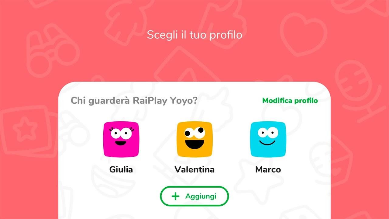 RaiPlay Yoyo screenshot 2