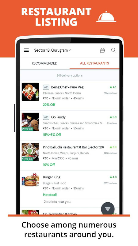 foodpanda: Fastest food delivery, amazing offers screenshot 3