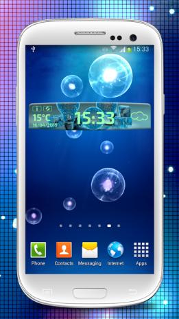 11defc4d284 Tempo   Relógio Widget 2.1 Baixar APK para Android - Aptoide