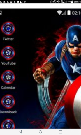 CAPTAIN AMERICA C-LAUNCHER 4 7 0 Download APK for Android - Aptoide