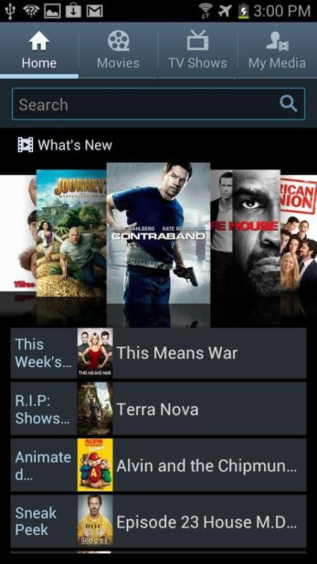 Media Hub–ATT 4G Smartphones screenshot 2