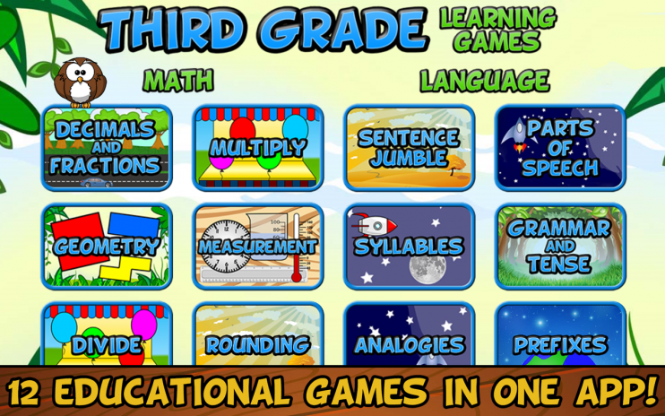 Third Grade Learning Games Screens1