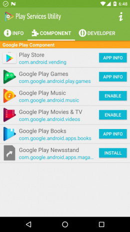 update google play services download apk