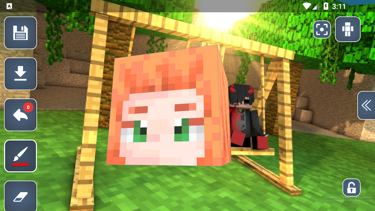 HD Skins Editor for Minecraft PE(1111x1111) 11.11.11 Download Android