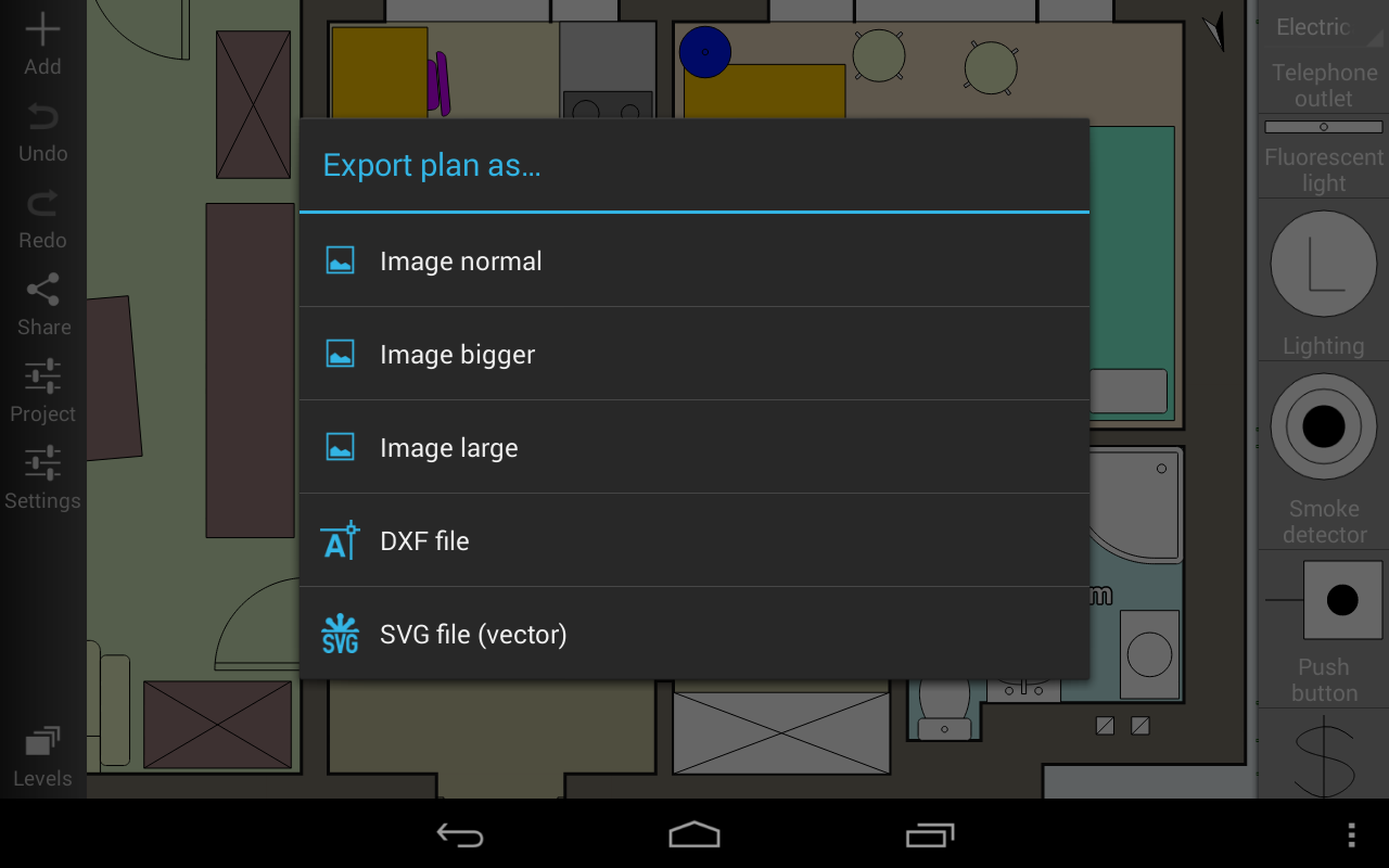 Floor Plan Creator screenshot 2