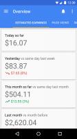 Google AdSense Screen
