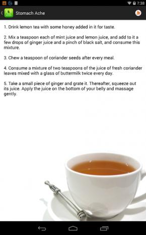 ... 101 natural home remedies cure screenshot 6 ...
