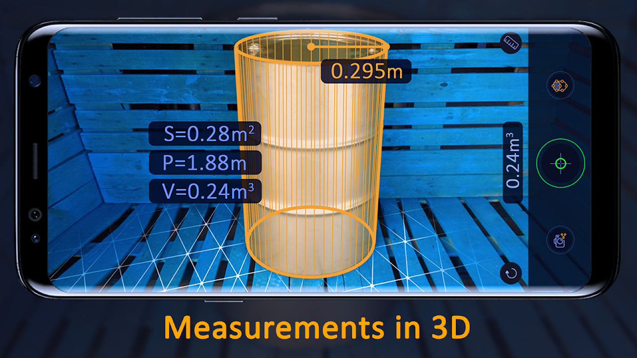 AR Ruler App – Tape Measure & Camera To Plan screenshot 1