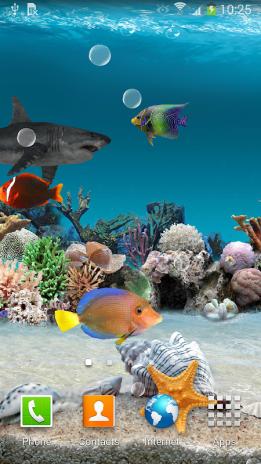 3d Aquarium Live Wallpaper Screenshot 1 2