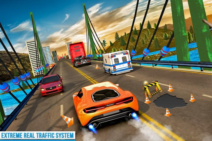 traffic xtreme 3d fast car racing & highway speed mod apk