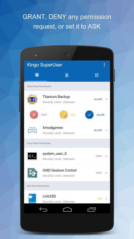 Kingo SuperUser [ROOT] screenshot 2