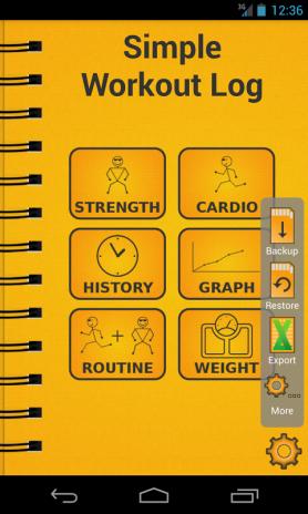 simple workout log pro key screenshot 2