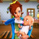 BUSY VIRTUAL MOTHER SIMULATOR 2 : FAMILY GAME