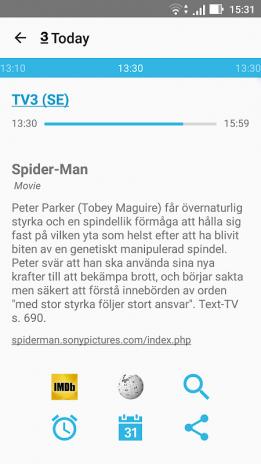 TV Guide listings all the major TV channels in Sweden SE