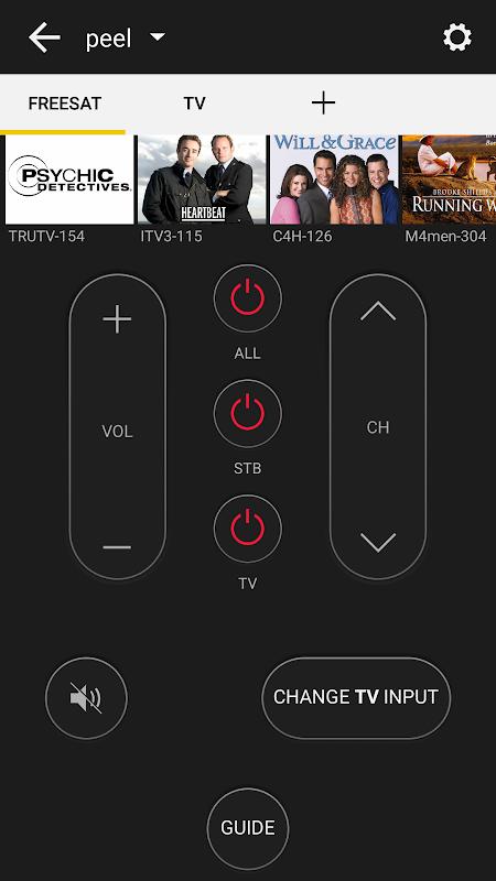 Peel Universal Smart TV Remote Control screenshot 3