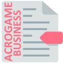 Business Acrogame (Acronym Game)