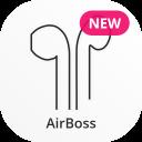 AirBoss | Akkustand + Einstellungen für AirPods