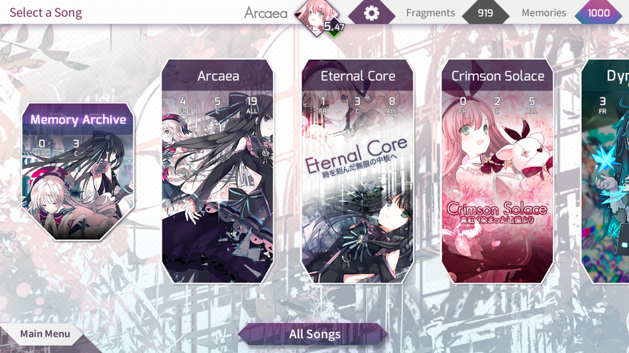 Arcaea - New Dimension Rhythm Game screenshot 5