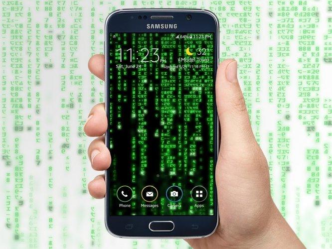 Digital Matrix Code Rain Live Wallpaper 1 8 1 Unduh Apk Android