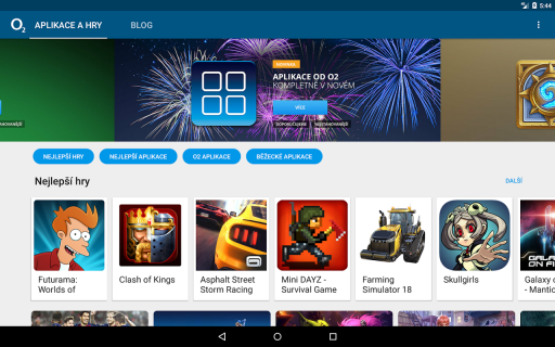 Aplikace od O2 screenshot 7